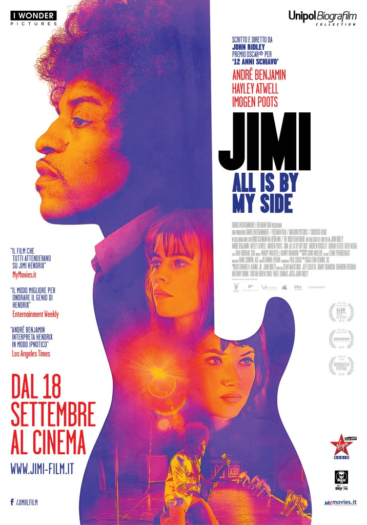Jimi All Is by My Side POSTER 70x100